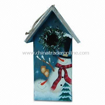 Bird House, Measures 12.7 x 10.2 x 22.5cm, Made of Wood