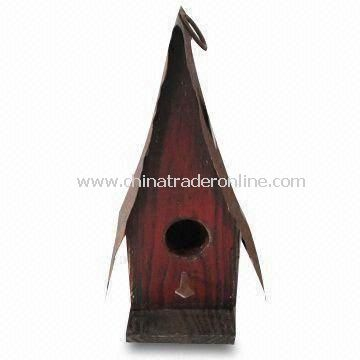 Birdhouse, Measures 16 x 12 x 25cm, Made of Wood