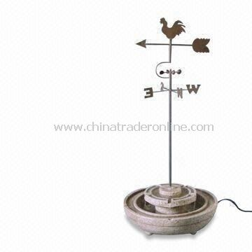 Garden Bird Feeder, Available in Various Colors, Made of Fiberglass