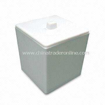 Ice Bucket, Made fo PP/acrylic Material with 8L Capacity from China