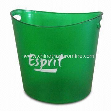 Ice Bucket, Made of PS Material, Available in Different Logos