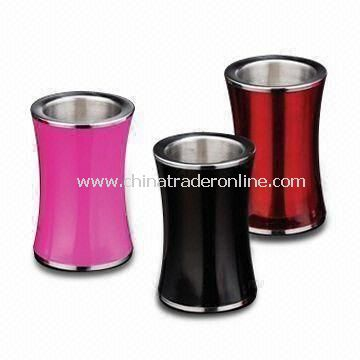 Ice Buckets, Available in Black, Pink and Red, Made of Stainless Steel