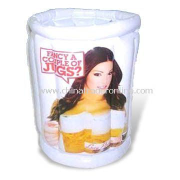 Inflatable Ice Bucket, Available in Various Sizes, EN71 Certified, Customized Designs are Welcome