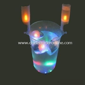 LED Ice Bucket, Available in Various Colors, Suitable for Promotions