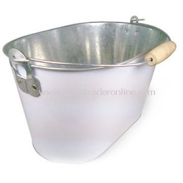 Metal Ice Bucket with Bottle Opener and 10L Capacity