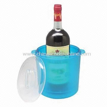 PS Ice Bucket, Accepts Customized Colors and Logos, Measuring 19.2 x 21.3cm