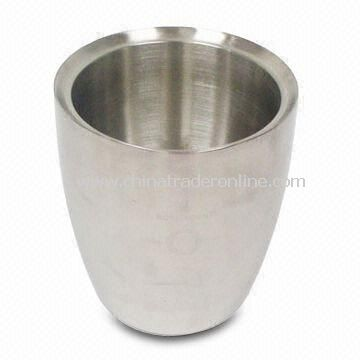 Stainless Steel Ice Bucket, Available in Satin or Mirror Finish