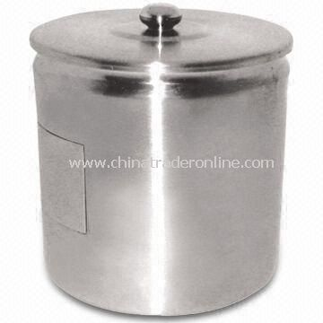 Stainless Steel Ice Bucket with 750mL Capacity, Available in Various Sizes and Designs