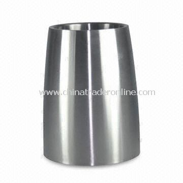 Stainless Steel Ice Bucket with Unique Shapes, OEM Orders are Welcome from China