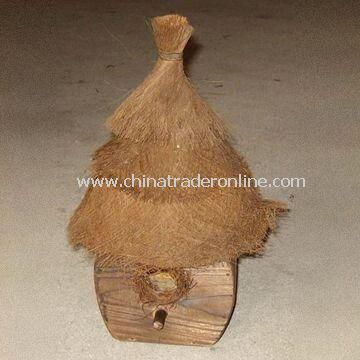 Wooden Bird House, Customized Prints, Specifications and Samples are Welcome