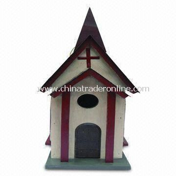 Wooden Bird House, Safe and Non-toxic