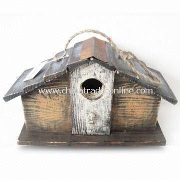 Wooden Birdhouse, Available in Size of 29 x 12 x 17cm