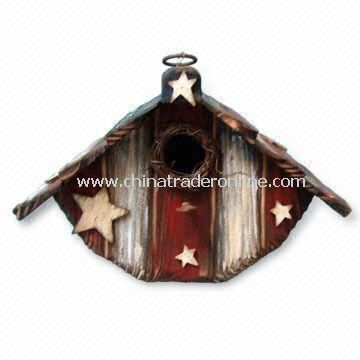 Wooden Birdhouse, for Thanksgiving or American National Day Decoration
