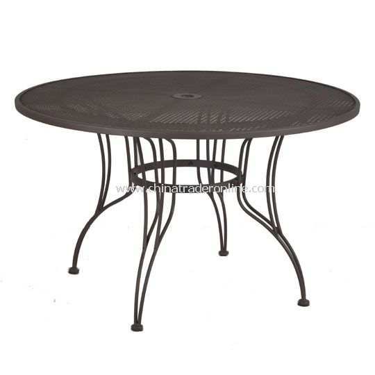 48 Round Table, Small Mesh Round Table