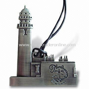 Chrismas Ornament, Made of Zinc Alloy, Brass, and Iron, with Different Finishes