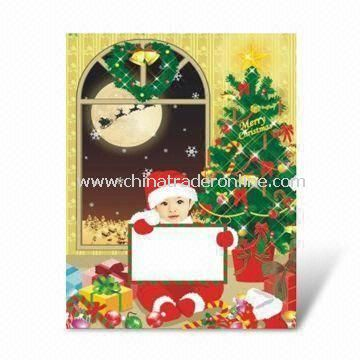 Christmas Greeting Card, Customized Designs are Welcome