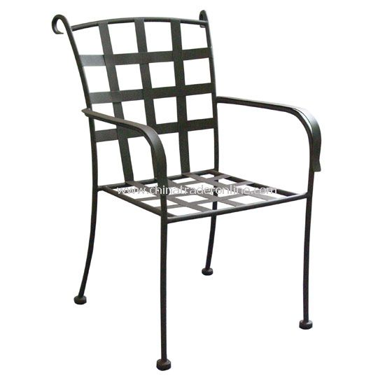 Flat iron Cross Armchair from China