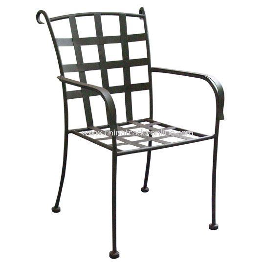 Flat iron Cross Armchair