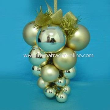 Glass Christmas Ornament with PVC Box Package
