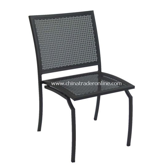 Louise Steel Sidechair