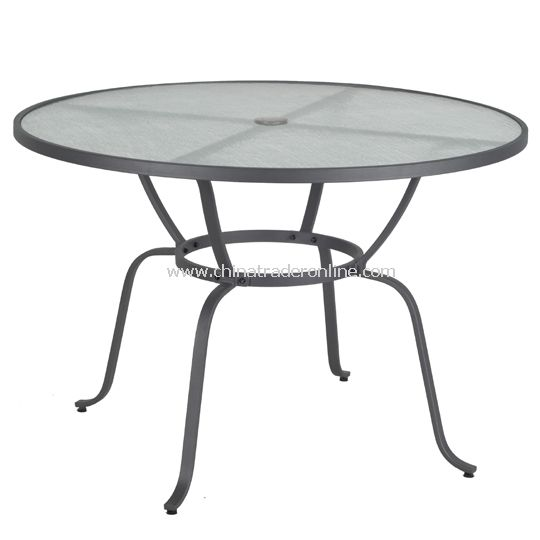 Mesh Round Table, with umbrella hole