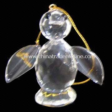 Penguin-shaped Christmas Ornament, Various Designs and Patterns are Available