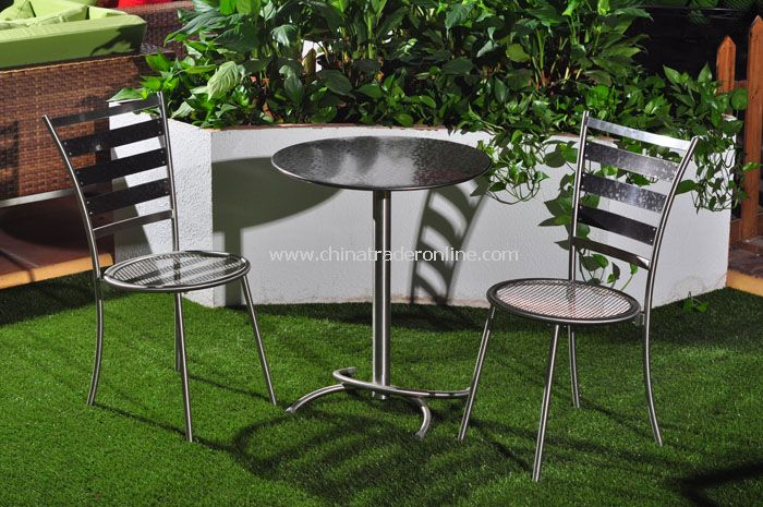 STAINLESS STEEL Bistro Set