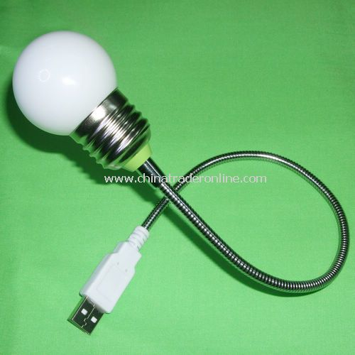 1 LED USB flexible LIGHT with SWITCH ON HEAD