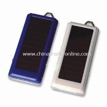 100 to 240V AC Portable Solar Chargers, Ideal for Cameras, PDA, iPod, MP3/MP4 Player, GPS, and PSP from China