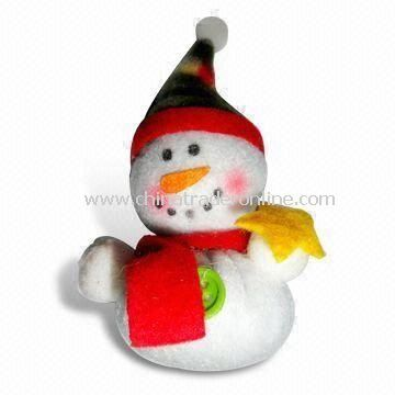 Christmas Snowman-shaped USB Flash Drive, Ideal for Christmas Gifts