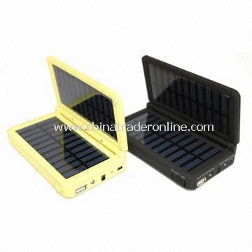 Dual Output Solar Charger with 5.0 to 5.5V DC Input Voltage