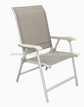 Garden Furniture Regular Sling Folding Chair