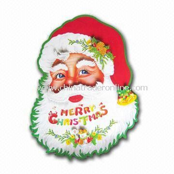 Greeting Card, The Paper Santa Clause Picture, Available in Various Shapes from China