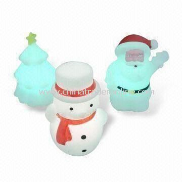 LED Snowman Light for Christmas Decoration, Available with 1 x AA NiMH Battery