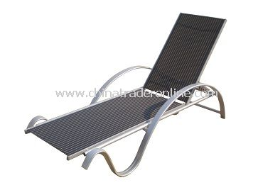 Outdoor Furniture Patio Sling Chaise Lounge