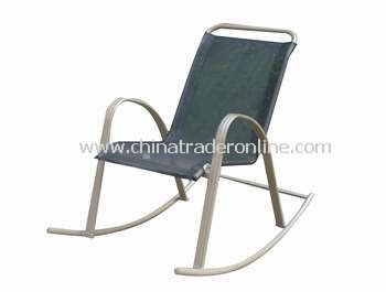 Patio Sling Stacking Rock Chair
