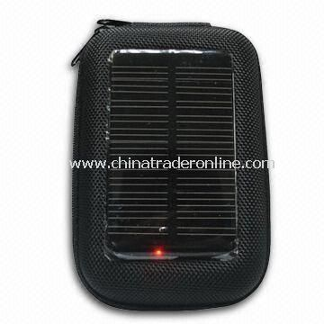 Portable Solar Chargers, Various Patterns, Competitive Price Available, 5 to 8 Hours Li-battery
