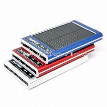 Portable Solar Chargers with 0.5/0.7W Panel Power and 800mA Output Current from China