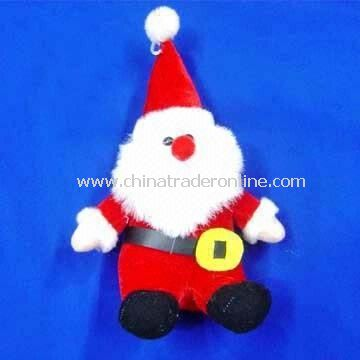 Santa Claus-shaped Plush Toy, Available in Various Designs and Sizes