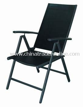 Sling Folding Outdoor Chair--Arm Adjustable