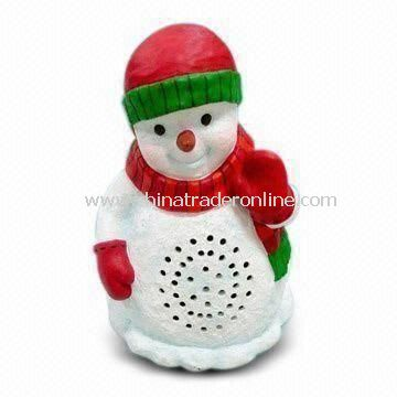 Snowman Speaker Ideal as Christmas Decoration from China