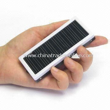 Solar Charger, Mini, 3-in-1, an Emergency System for Travels, an Lithium-polymer Backup Battery from China