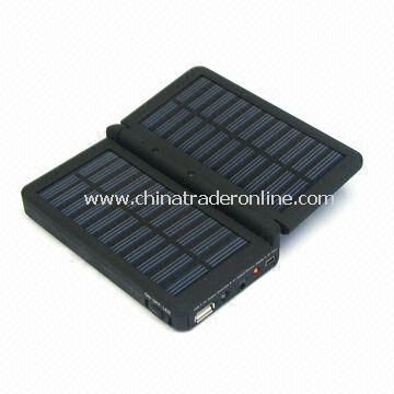 Solar Chargers, Mini, 3-in-1, Li-pol Backup Battery Station Supply with 2,400mAh Capacity from China