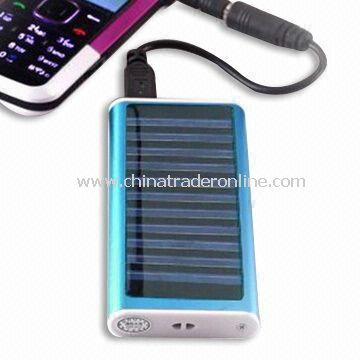 Solar Charger, Suitable for Mobile Phone, MP3/MP4 Players and iPod