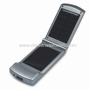 Solar Chargers, Fit for Mobile Phones, Digital Cameras, PDA, MP3s from China