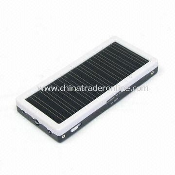 Solar Chargers, Mini, 3-in-1, an Emergency System, Trip, a Lithium-polymer Backup Battery Station from China