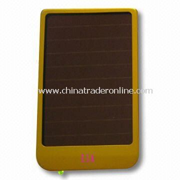 Solar Power Charger with 0.4W Power, Suitable for Mobile Phones and Digital Products
