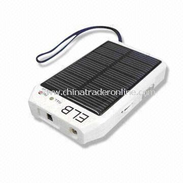 Solar Power Chargers with Radio, Flashlight, Cellphone Charger and Digital Camera Charger