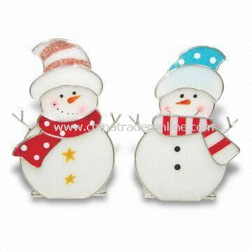 Stained Glass Snowman Ornament, Glass Crafts, Fashion Pendants, OEM Orders are Welcome