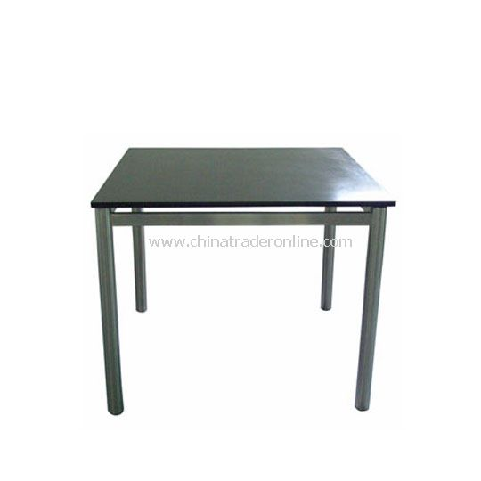 Stainless steel Table 92*92  cm with Granite Top